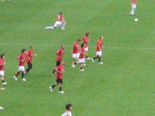 選手練習開始