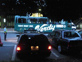 ヴェルディ選手バス